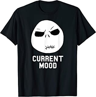 Disney Nightmare Before Christmas Current Mood T Shirt