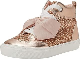 JoJo Siwa Girls' Glitter High Top Sneakers (Toddler/Little Girl/Big Girl)