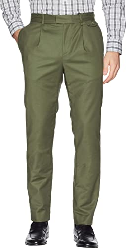 Military Sateen Pressed Trouser Pants