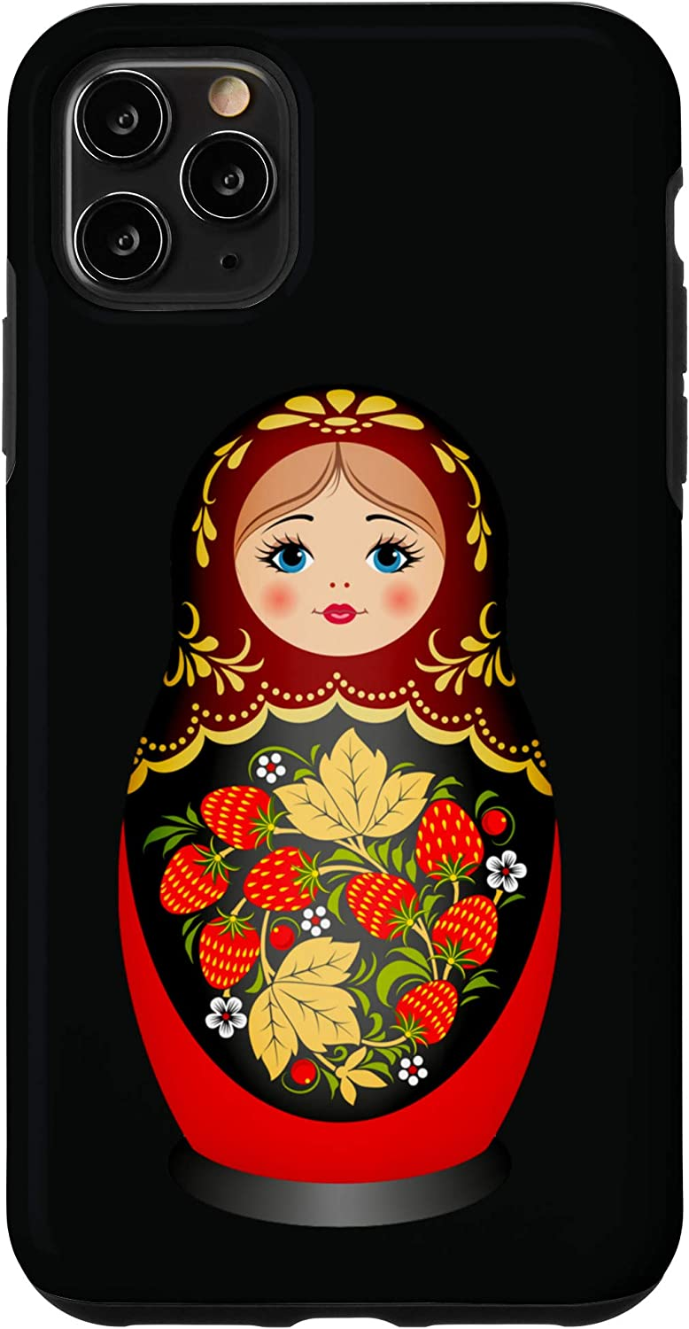 Designed to Fit Any Laptop//Notebook//ultrabook//MacBook with Display Size 11.6 Inches Russian Doll Matryoshka Folk Pattern Neoprene Sleeve Pouch Case Bag for 11.6 Inch Laptop Computer