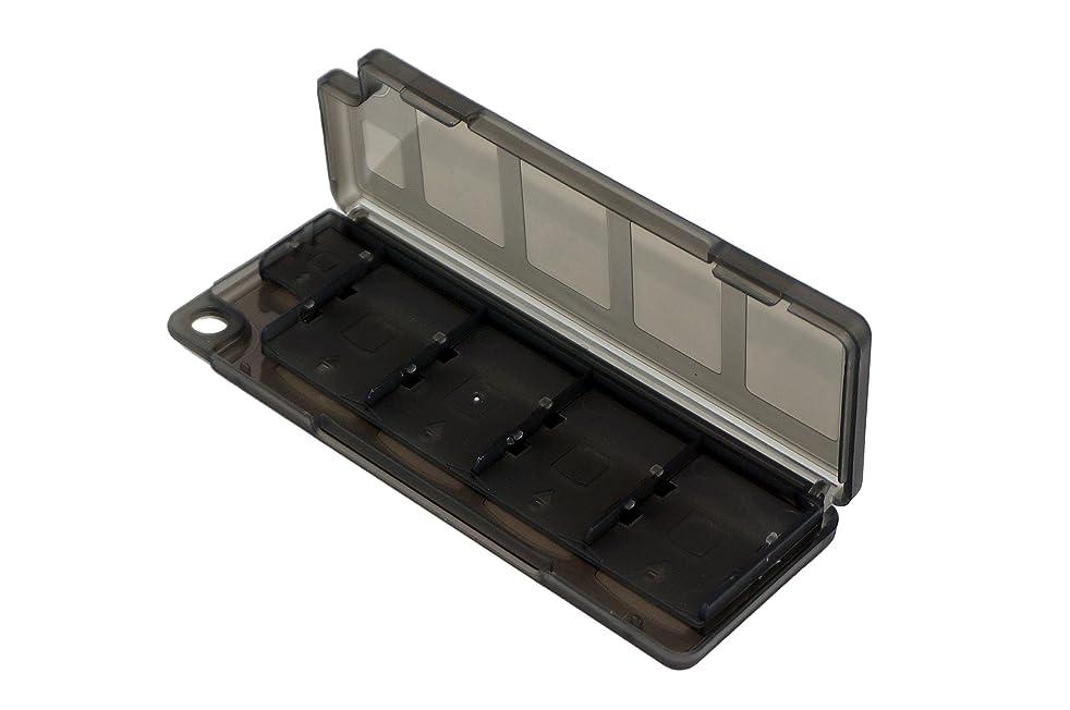 10 in 1 Plastic Video Game Card Memory Card Holder Storage Case Box for Sony PlayStation Vita PS Vita PSV PSV1000 PSV2000 Black