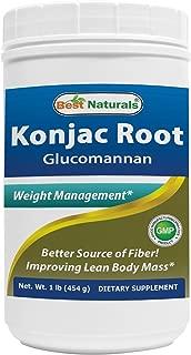 Best viscous fiber supplements like glucomannan Reviews