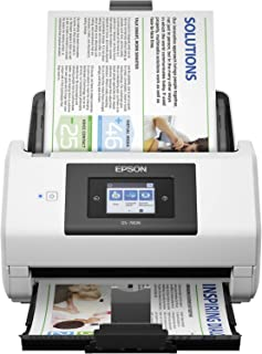 Epson DS-780N Network Color Document Scanner for PC and Mac, 100-page Auto Document Feeder (ADF), Duplex Scanning (Renewed)