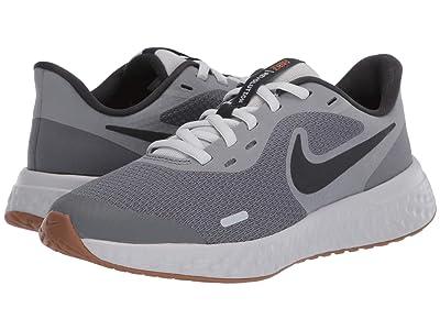 Nike Kids Revolution 5 (Big Kid) (Smoke Grey/Dark Smoke Grey/Photon Dust) Boys Shoes