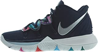 Mens Kyrie 5 Basketball Shoe (13), Multi-color/Metallic Silver