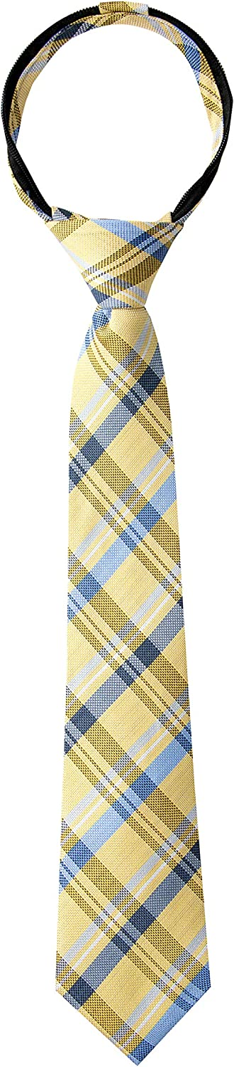 Spring Sale special price Notion Boy's Tartan Tie Plaid Clearance SALE Limited time Zipper Woven