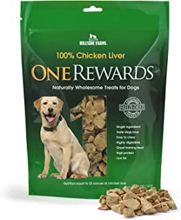 One Rewards Freeze Dried Dog Treats, Chicken Liver, 20 oz.