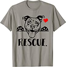 Adopt Pitbull Rescue Pitbull Dog Lovers Owners Tshirt Gift