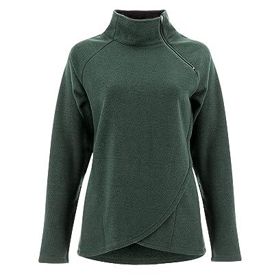 Aventura Clothing Harlow Zip Neck Top