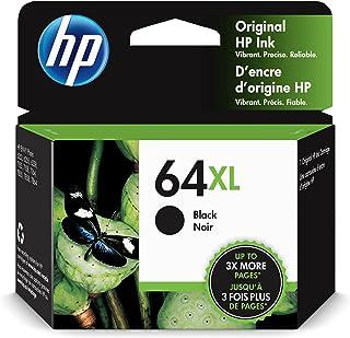 HP 64XL | Ink Cartridge | Black | Works with HP ENVY Photo 6200 Series, 7100 Series, 7800 Series, HP Tango and HP Tango X...