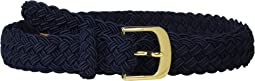 Woven Elastic Casual Medium Belt