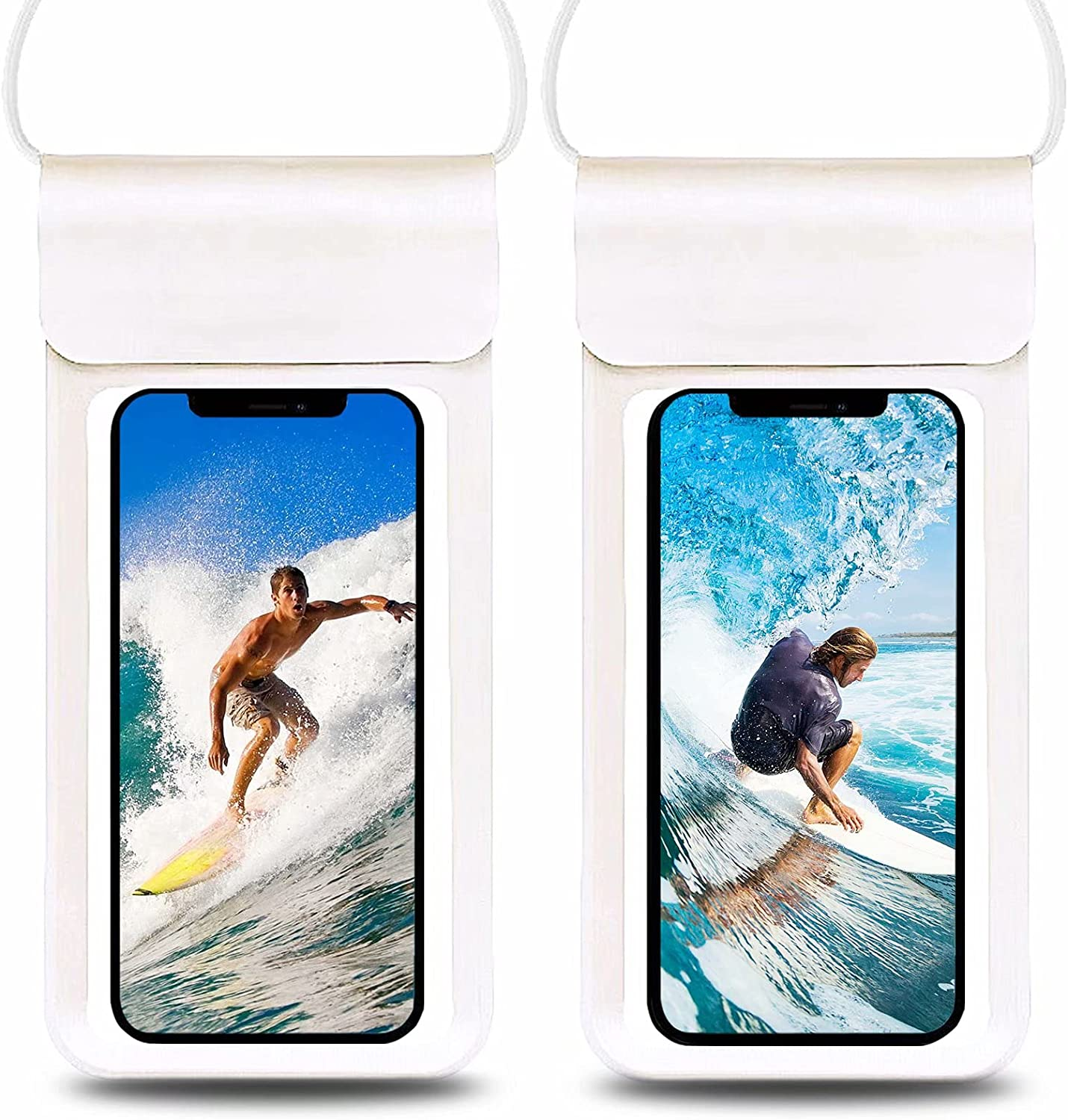 CJJCCF Waterproof Phone Pouch,Universal Waterproof Phone Bag,Underwater Dry Bag with Lanyard Take Pictures Compatible with iPhone 12 SE2 11 Pro XS Max XR X 8 7 6s Plus Pixel Up to 6.9