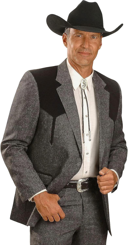 Circle S Men's Boise Western Suit Coat Short, Reg, Tall