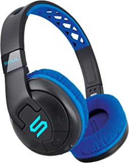 SOUL Electronics X-TRA Performance Bluetooth 4.0 Wireless Over-Ear Headphones for Sports. 24 Hours Playtime for Running and Workout and Gym. Support Apple iPhone and Android - Blue