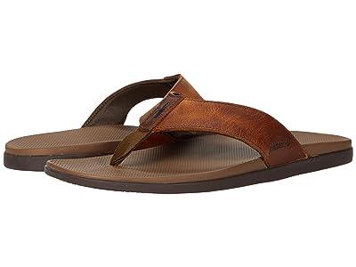 johnnie-O Dockside Leather Toe Post Sandal