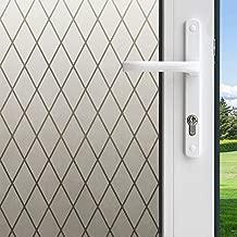 غشاء نافذة داخلي بشبكة مصنفرة مزخرفة من Gila لاصق ثابت DIY بدون صمغ 3 أقدام x 6. 5 أقدام (36 بوصة x 78 بوصة) (19. 5 أقدام مربعة)