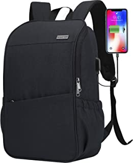 Travel Laptop Backpack with USB Charging Port+Anti-Theft[Water Resistant] College School Bookbag Fits 16 Inch Laptop