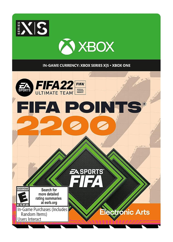 FIFA Columbus Mall 22: 2200 Points - Xbox Rare Digital Code