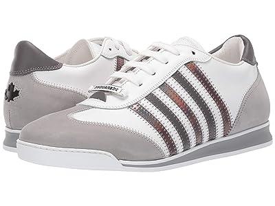 DSQUARED2 New Runner Sneaker (White/Grey) Men