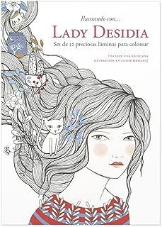 Cuquiland Ilustrando con Lady Desidia - Set de 12 láminas para colorear