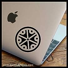 Ostravos Clan Symbol SMALL Vinyl Car/Laptop Decal