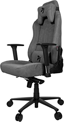 Arozzi Vernazza Soft Fabric Gaming Chair, Ash
