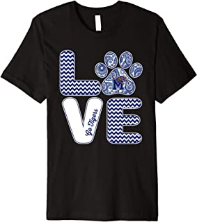 Memphis Tigers Love - Paw T-Shirt - Apparel