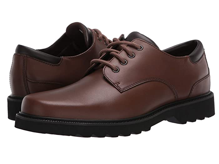 Rockport  Main Route Northfield Waterproof (Dark Brown Leather) Mens Lace up casual Shoes
