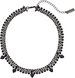 Steve Madden - Triangle Charm Choker Necklace