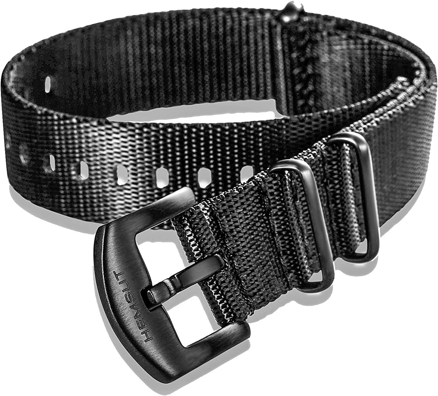 Hemsut Military Style Watch Strap for Men Max 82% OFF Wrap Seat Belt All stores are sold