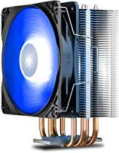 DEEPCOOL GAMMAXX400 V2 Blue CPU Air Cooler with 4 Heatpipes, 120mm PWM Fan and Blue LED for Intel/AMD CPUs (AM4 Compatible)