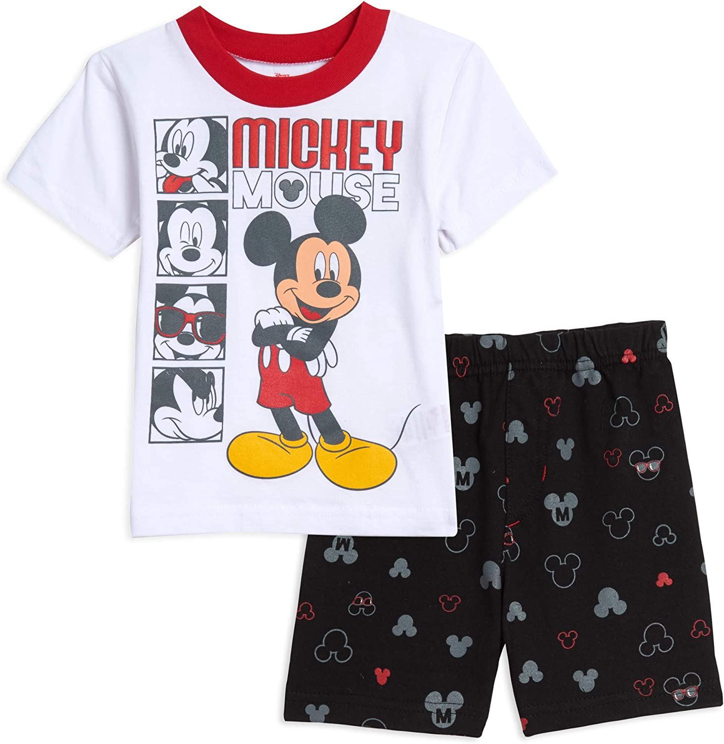 Disney Mickey Mouse French Terry T-Shirt Shorts Set