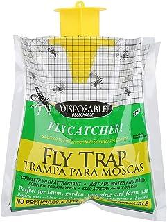Trampa para Moscas Desechable para Control de Insectos en Interior/Exterior/Jardín