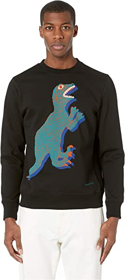 Regular Fit Large Dino Sweatshirt