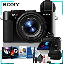 Sony Cyber-Shot DSC-RX1R II Digital Camera (International Model) + Corel Program Bundle + Camera Case + Cleaning Kit