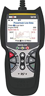 INNOVA 5410 Pro Code Reader Tool - OBD2 Car Diagnostic Scanner - Network Scan & Battery Initialization