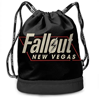 14dadamai Fall-Out New Vegas Personalized Multifunctional Beam Drawstring Backpack Unisex Suitable for Outdoor Travel