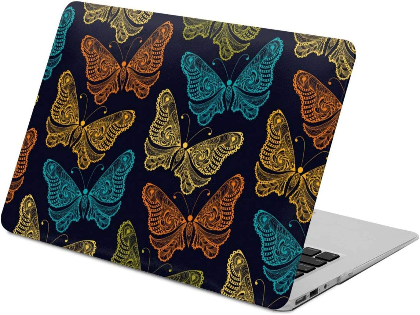 Stylized Butterfly Seamless Gorgeous Compatible with Inch Air 13 MacBook Max 66% OFF