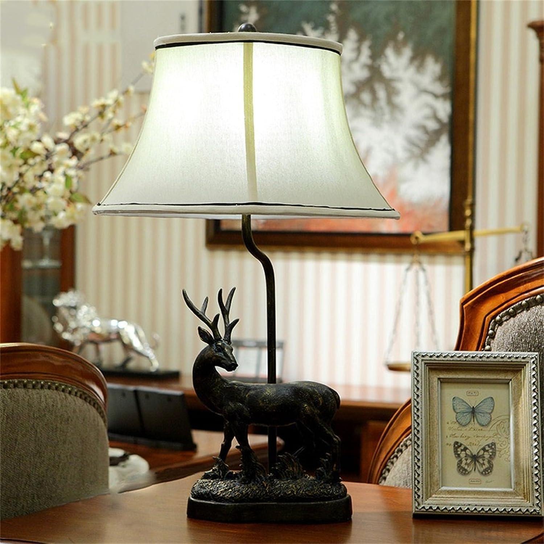 Shopping-Europäische Retro elk elk elk Nachttischlampe B01N1X1S3R   | Outlet Store Online  30e5c7