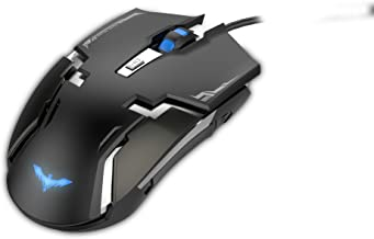Mouse Ótico HV-MS749 Iluminado USB 800-1200-2000-3200 DPI 6 Botões, Havit para Windows 10/Win 8/Win 7/Vista/Mac/Linux, Preto