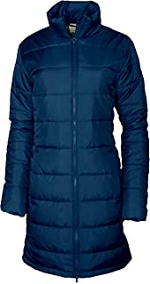 Columbia Women's Timber Point Omni Heat Insulated Long Jacket (Large, Navy)