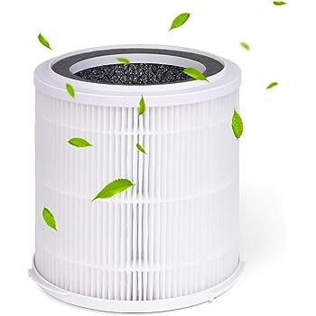 JINPUS Filtre de Remplacement V/éritable Filtre HEPA et Filtre /à Charbon Actif