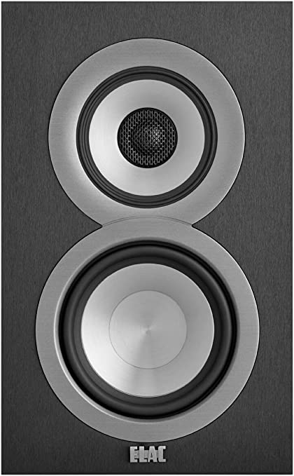 ELAC Uni-fi UB9 Bookshelf Speaker (Black, Pair)