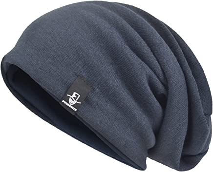 VECRY Men's Oversize Slouch Beanie Slouchy Skullcap Large Baggy Hat