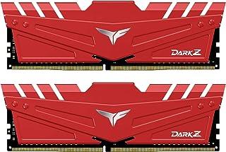 Team DDR4 3600Mhz(PC4-28800) 16GBx2枚(32GBkit) デスクトップ用メモリ ハイスピードタイプ Dark Zシリーズ 日本国内無期限保証