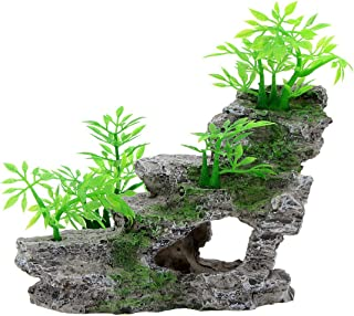 Saim Aquarium Artificial Landscape Stone Cave Ornament Fish Tank Decoration Small