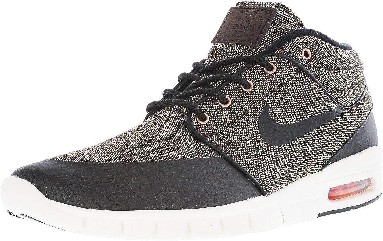 Nike Stefan Janoski MAX MID Mens Skateboarding-Shoes 807507