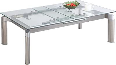 MILAN Tatiana Cocktail Table, Clear