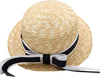 Kids Sun Protection Hat Chin Strap & Neck Flap & Adjustable Pull Rope & UPF 50+ Sun Protection