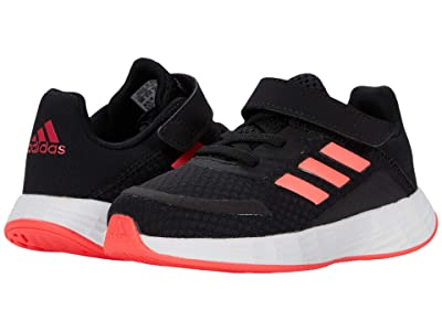 adidas Kids Duramo SL (Infant/Toddler) (Core Black/Signal Pink/Team Royal Blue) Girls Shoes